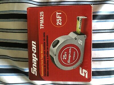 Snap-on TPMA25 25' Tape Measure Brand New In Box!