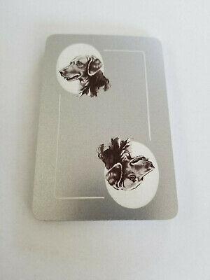 Single Suit (Hearts) - Vintage Swap Playing Cards - Bird Dogs, Small Pictures