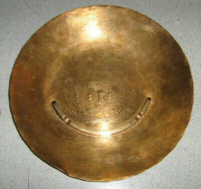 "Wendell August Forge Bronze Plate/Ashtray Hand Made 8 3/4"" Inch Hops & Barley"