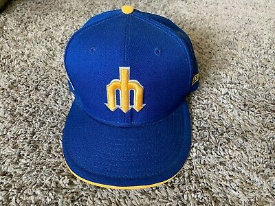 3ca4552e0 SEATTLE MARINERS NEW Era MLB 950 Vintage Pitchfork Cooperstown ...