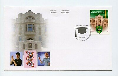 Canada FDC #2210 Canadian Universities U Saskatchewan 2007 73-6