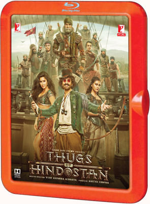 Thugs Of Hindostan (Aamir Khan, Amitabh Bachhan) - Bollywood 2 Disc Blu-Ray