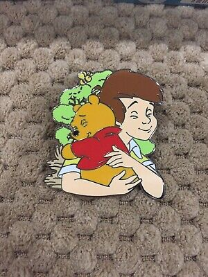 Disney Parks Winnie Pooh & Christopher Robin Disney Hugs Mystery Collection Pin