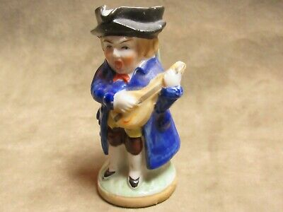 Vintage Japan Made 1930's Lute Playing Figural Character Toby Jug Creamer