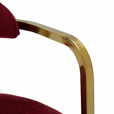 MoDRN Glam Marni Metal Base Dining Chair, Multiple Colors