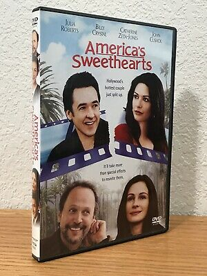 AMERICA'S SWEETHEARTS (DVD, 2001) with SCENE SELECTION BOOKLET WS/FS REGION 1