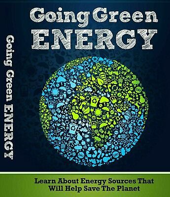Going Green Energy PDF eBook With Resale rights