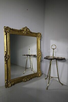 Early 19th Century Antique Carved Gilt Wood Mirror