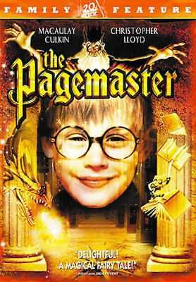 The Pagemaster NEW DVD