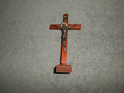 Religious Cross With Christ- Cross Is Wood