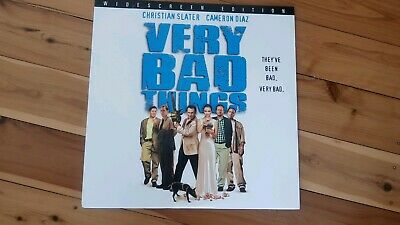 Very Bad Things Late Release Laserdisc