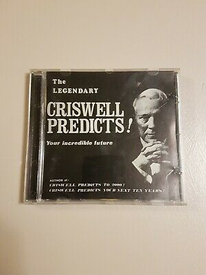 Sci Fi 1950s Rare Griswell Predicts CD Plan 9 From Outer Space