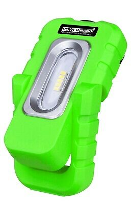 POWERHAND Rechargeable 5 SMD Magnetic Palm Work Inspection Lamp - 300Lm - Green