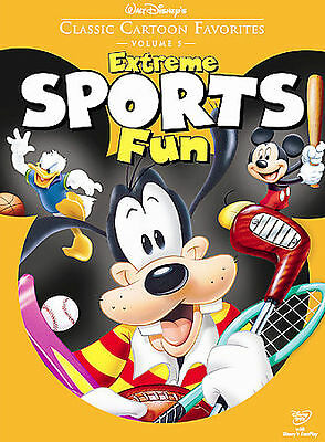 Walt Disneys Classic Cartoon Favorites - Volume 5: Extreme Sports Fun (DVD, 2005