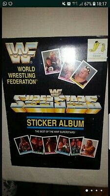 Album De Cromos Super Stars Wwf Completo Pressing Catch 1990-1994 wwe