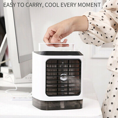 Portable Mini Air Conditioner Water Cool Cooling Fan Artic Cooler Humidifier