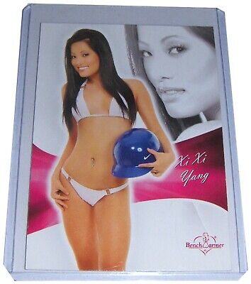 XI XI YANG 2011 Bench Warmer Bubblegum Card #66, Live From The Red Carpet, NM