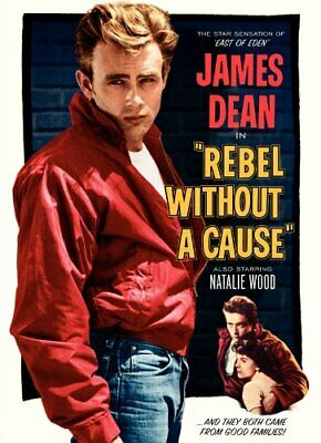 Rebel Without a Cause Poster Movie J 11x17 James Dean Natalie Wood Sal Mineo Jim