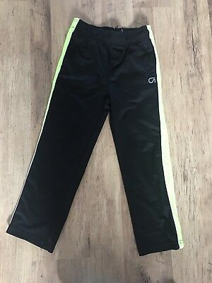 Gap Fit Boys Black Pull On Running Trousers Jogging Bottoms Size M Age 8 Years