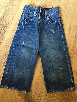 Gap Kids Boys 1969 Straight Leg Jeans Blue Denim Age 2 Years