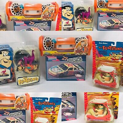 Vintage Hanna Barbara Flintstones Collection  60's-90's  Figures Plush Toys Book