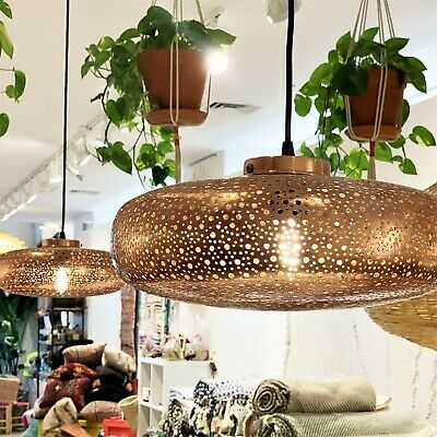 Suspension Pendant Light Moroccan Hanging Chandelier Ceiling Brass Antique