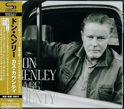 Don Henley Cass County 2015 Japan Shm Cd+4 - The Eagles - Brand New & Sealed!