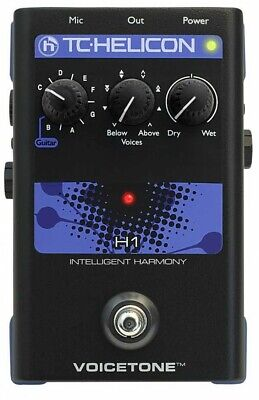 TC HELICON VoiceTone H1 Compact Vocal Effects Processor From Japan with Tracking
