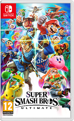 Super Smash Bros Ultimate (Nintendo Switch, 2018) Brand New and Sealed