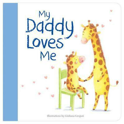 My Daddy Loves Me Hardcover Book Free Shipping!