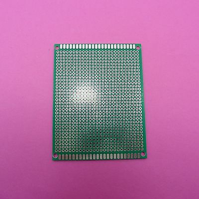 7x9cm FR-4 Soldering Universal Circuit Board Single Side PCB 2.54mm Fiber Glass