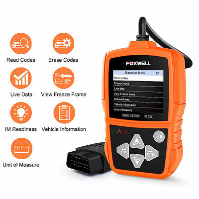 Foxwell NT201 Car EOBD OBD2 Scanner Code Reader Engine Tester Diagnostic Tool
