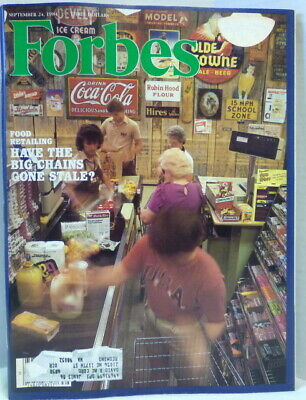 Forbes Magazine September 24, 1984 Have The Big Chains Gone Stale?