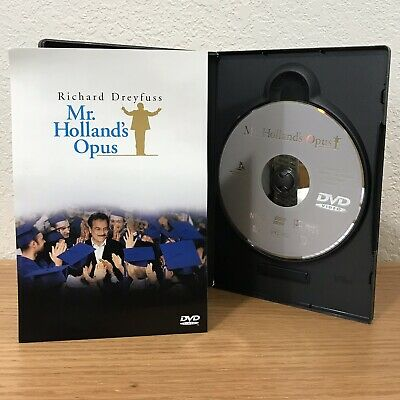 MR. HOLLAND'S OPUS (DVD, 1999) WIDESCREEN REGION 1 with SCENE SELECTION INSERT