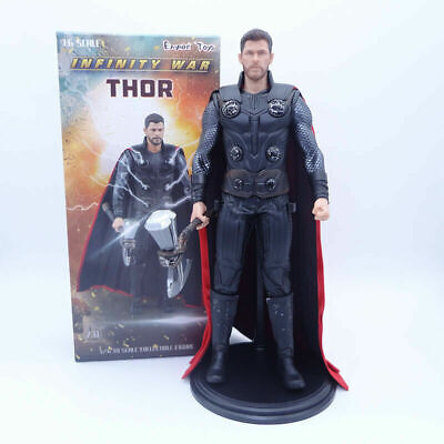 "Empire Toy Marvel Avengers 3 Thor Stormbreaker Axe 12"" Action Figure Statue Gift"