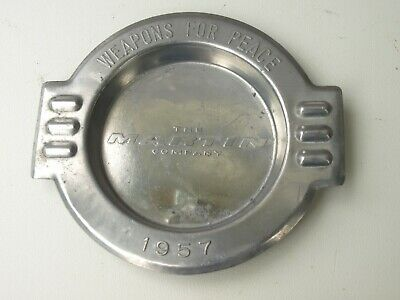 Vintage 1957 The Martin Company Weapons For Peace Aluminum Ash Tray