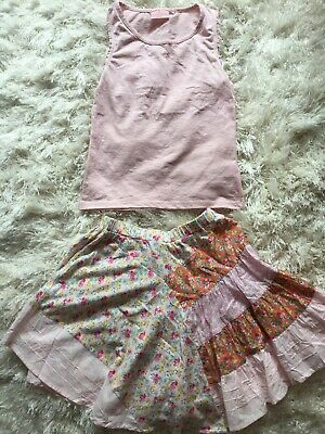 Next Girls Skirt And Top Set Age 10 Years