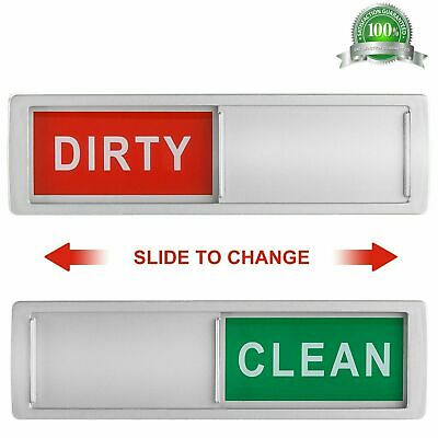 Dishwasher Magnet Clean Dirty Sign Shutter Only Changes When You Push It Non-Scr