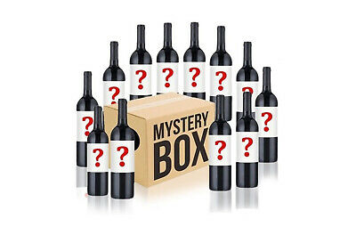 Australian Mystery Labelled Red Wine Mixed 12x750ml RRP$229 Free Shipping/Return