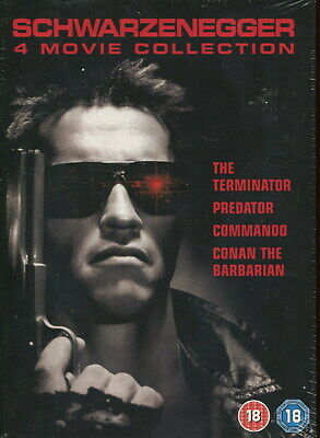 Arnold Schwarzenegger 4 Movie Collection. Brand New & Sealed.