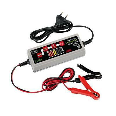 Amperomatic Lithium-Plus Caricabatteria Intelligente 12V 3,8A Auto (091)