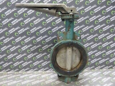 "USED Center Line 06R1644D 6"" Series 800 Butterfly Valve"