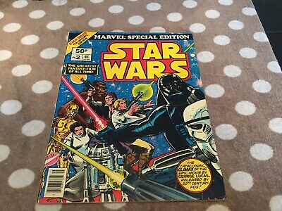 Star Wars Marvel Treasury Edition No.2 Good-Very Good Condition