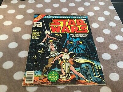 Star Wars Marvel Treasury Edition No.1 Good Condition