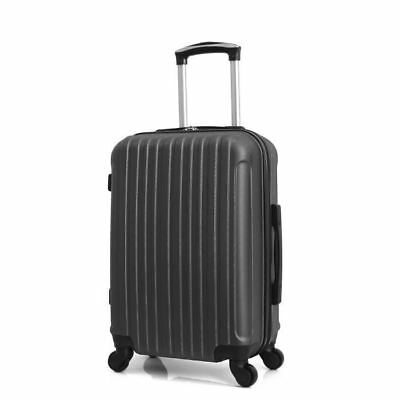 Valise Cabine Rigide solide 4 Roues 50 cm hero bagage à main NEUF 50 x 35 x 20cm