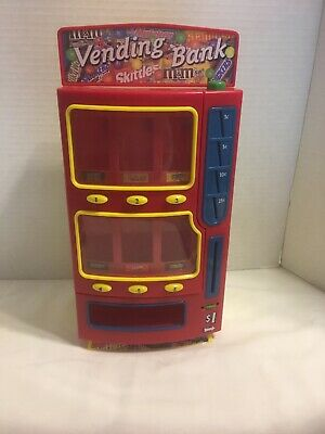 2004 M&Ms Vending Bank Candy Bar Dispenser Skittles Twix Mars Snickers Milky Way