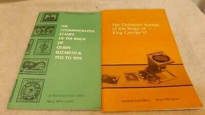 British Commonwealth Stamp Books - King George VI and Queen Elixabeth II