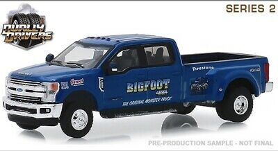Greenlight Dually Drivers 2 PRE-ORDER 1/64 Bigfoot #1 FORD F-350 MONSTER TRUCK