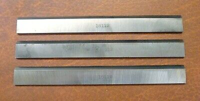 "3-pc. 6"" HSS Craftsman #18112 Jointer Knives / Cutters / Blades — Free Shipping!"
