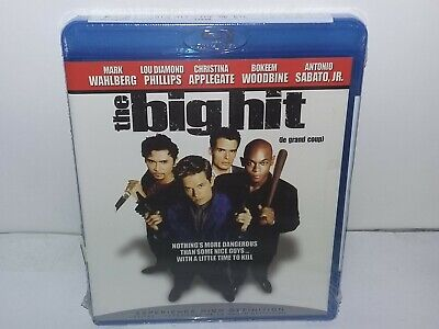 The Big Hit (Blu-ray, Canadian, Region A, Bilingual) NEW - No Tax